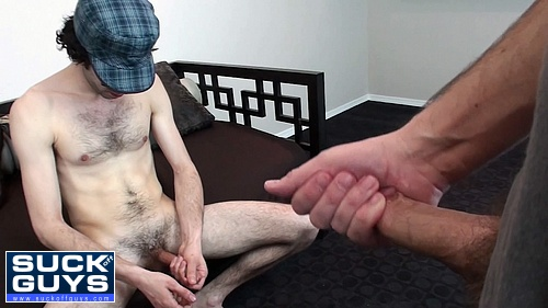 Seth Moves in to Swallow this Straight Guy's Cum Load