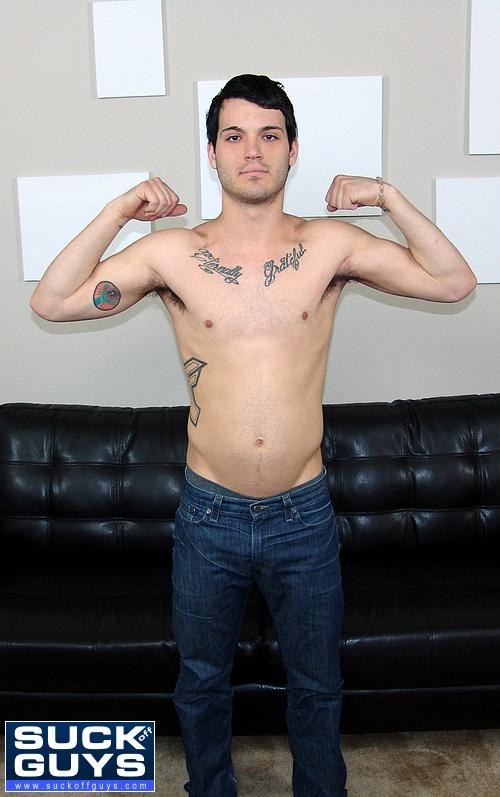 Ben Porter Flexes His Straight Boy Muscles