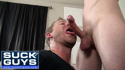 Aaron French Services a Straight Man With a Huge Dick