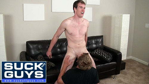 Straight Stud Alexander King Gets Sucked Off
