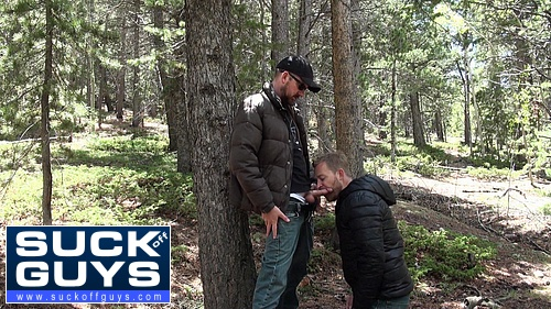 Seth Chase & Aaron French in the Woods