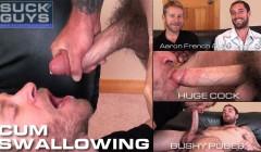Huge Cock Cum Swallowing