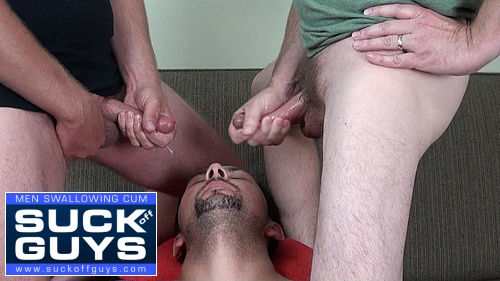 Jaron Takes Two Loads of Cum