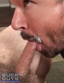 Eating Cum from a Straight Guy