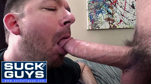 Seth Chase Gobbles Down Ethan Ever's Cum Load