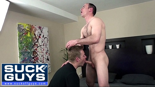 Shane Stride Shoots His Cum in Aaron French's Mouth