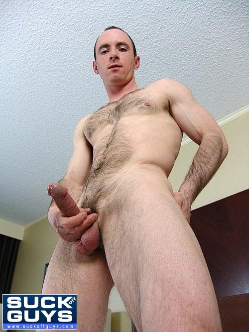 Straight Hairy Hunk Shane Stride
