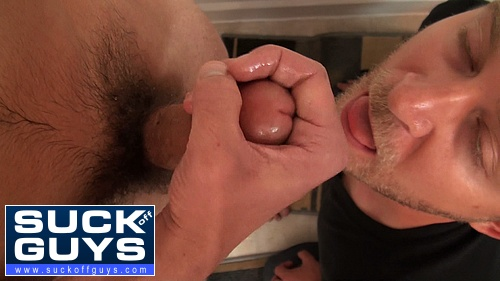 Eating a Straight Guy's Cum Load