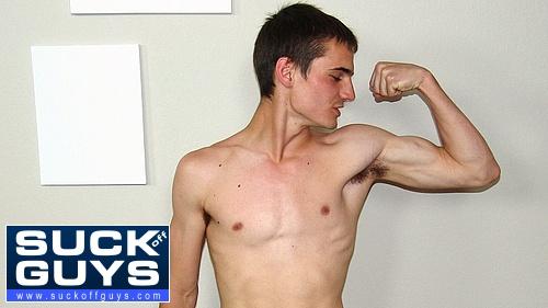 Ashton Clark's Flexes His Lean Body