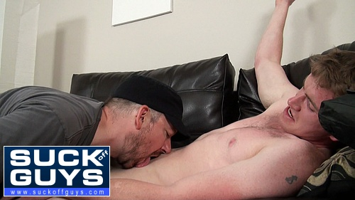 Seth Licks Up and Swallows Alexander's Jizz