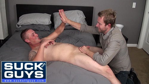 Sucking Off and Hi Fiving a Straight Dude