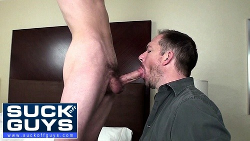 Sucking Off a Young Straight Guy