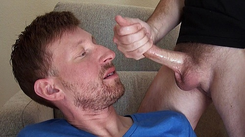 Colton Harris Swallows Seth Chase's Giant Load of Jizz
