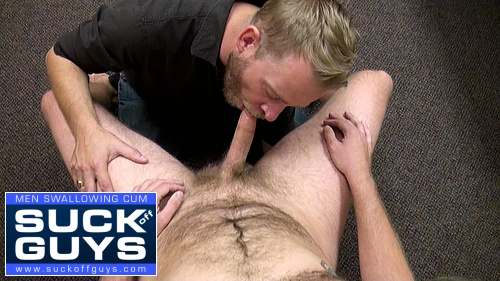 Aaron Swallows Jesse's Cum