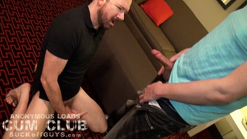Seth Chase Gets Covered in A Straight Man's Cum