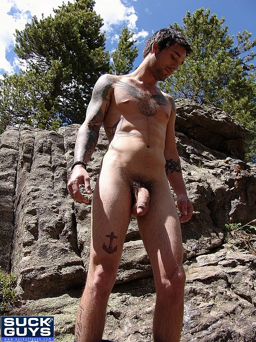 Ethan Ever Hikes Naked