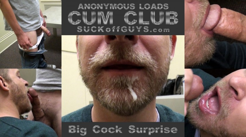 Cum Club - Big Cock Surprise